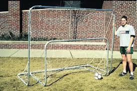 Soccer Net For Backyard by Backyard Striker Soccer Goal 6x8 Goal Sports Soccer Intermediate