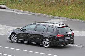 volkswagen models 2018 volkswagen golf r facelift spied testing in wagon form autoguide