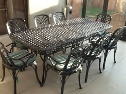 magnificent black wrought iron table and chairs with rod outdoor