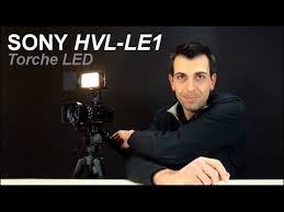 sony hvl le1 handycam camcorder light torche video led sony hvl le1 unboxing review family geek