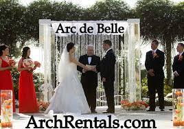 wedding arches orlando fl acrylic wedding canopy lucite wedding chuppah rentals miami south