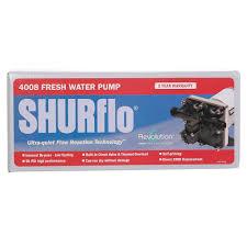 travel trailer water pump shurflo revolution water pump shurflo 4008 101 e65 fresh water