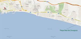 Marbella Spain Map by Best Beaches In Marbella Playa Real De Zaragoza