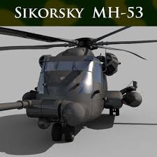 pave 3d models 3d pave sikorsky mh 53 pave low helicopter 3d model 3d model animated
