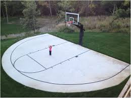 backyards trendy basketball backyard court outside basketball