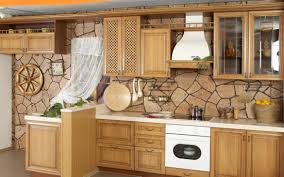 Kitchen Stone Backsplash Ideas Modern Natural Kitchen Stone Backsplash Design That Can Add The