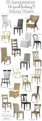 Dining Room Chairs With Rollers Best 25 Painted Dining Chairs Ideas On Pinterest Kitchen Chairs