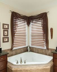 bathroom window treatment ideas photos best 25 corner window treatments ideas on corner