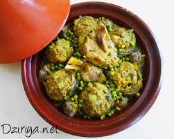 artichaut cuisine tajine de petits pois et d artichauts farcis à la viande dziriya
