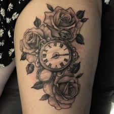 pocket watch flowers google zoeken tattoos pinterest
