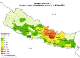 Nepal On A World Map by From Remote Nepal A Warning Against Ahistorical Disaster Relief