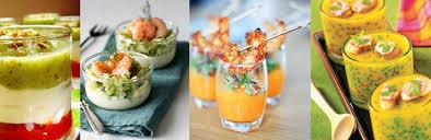 cuisine verrine top 10 des verrines salées fédération française de cuisine