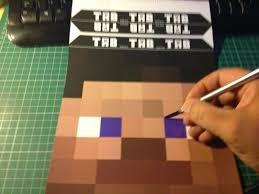 como hacer mascaras en forma de rosa máscaras de minecraft para imprimir gratis ideas y material