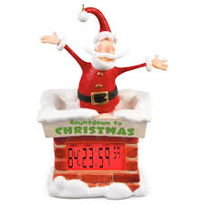 countdown to santa countdown clock ornament keepsake