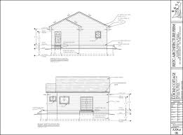 locke cottage cad drawing locke portfolio