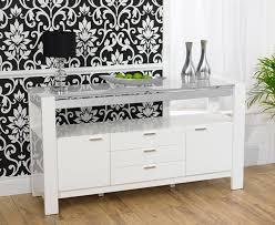 High Gloss Sideboards Uk Buy Mark Harris Sophia High Gloss White Sideboard Online Cfs Uk