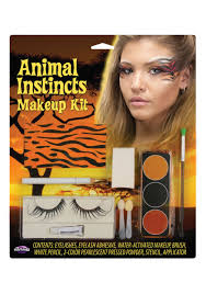 White Tiger Halloween Makeup by Tiger Animal Instincts Makeup Kit