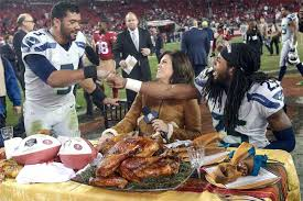 pics best thanksgiving pics featuring your favorite athletes and