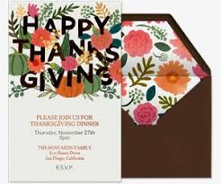 how to plan a friendsgiving celebration evite