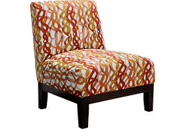 Orange Accent Chair Accent Chairs