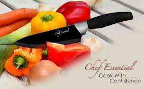 amazon com chef essential 6 piece knife set with matching sheaths