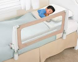 Toddler Bed With Rail Amazon Com Safety 1st Secure Top Bed Rail Beige Baby