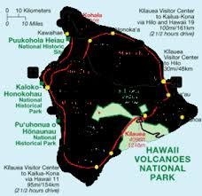 map of hawaii big island hawaii island