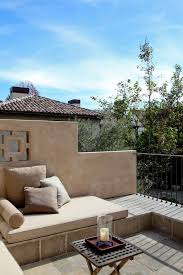 The Terrace Mediterranean Kitchen - balcony with terrace kitchen modern with outdoor indoor