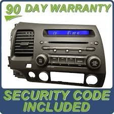 code for radio honda civic honda civic 07 radio code car insurance info