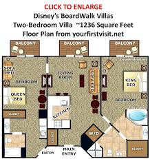 disney bay lake tower floor plan bay lake tower 2 bedroom boardwalk villas two bedroom villa floor