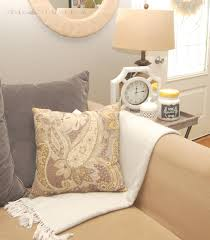 style with wisdom living room update with big lots