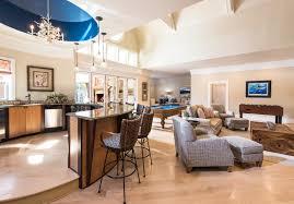 large home network design inside look northshore estate teen tiki room