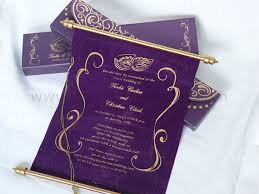 scroll invitation mardi gras scroll in a box by color print outlet catch