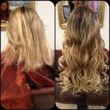 Pics Of Hair Extensions by Before And After Micro Beads Hair Extensions Yelp