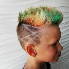 kids spike hairstyle boys fade haircuts