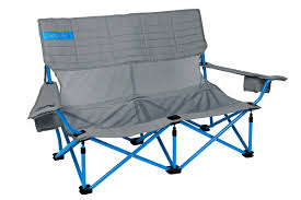 low love seat 2 person folding camp chair kelty