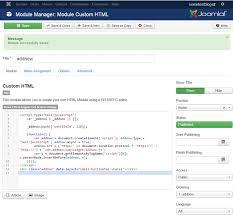 joomla tracking code u0026 widget locations u2013 addnow help center