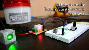 weekend project laser and ldr security system working prototype