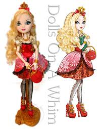after high apple white doll mattel after high original royal apple white doll