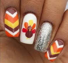 gobble gobble thanksgiving nail to inspire livingly