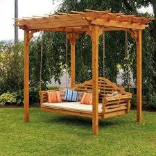 Wood Pergola Designs by Best 25 Wooden Swings Ideas On Pinterest Wooden Tree Swing