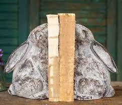 rabbit bookends rabbit bookends ebay