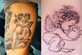 baby angel tattoos tattoo designs ideas u0026 meaning tattoo me now