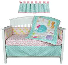 5 Piece Nursery Furniture Set by Amazon Com Sea Sweeties Pink And Blue Ocean 5 Piece Baby Girl