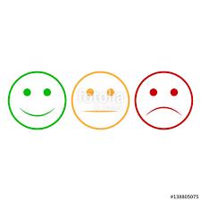 happy green color smiley face set smiley face icon happy and unhappy smileys faces