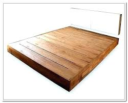 King Platform Bed Frame With Headboard Bed No Headboard Canalcafe Co