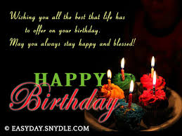 Happy Birthday Wish Happy Birthday Wishes Image Easyday