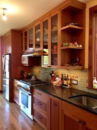 Kitchen Cabinets Mission Style Kitchen Kitchen With Craftsman End Cabinet Also Craftsman