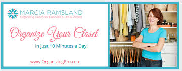 organize your closet in 10 minutes a day quick and easy plan