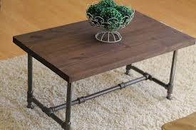 espresso rustic industrial coffee table rustic home decor rustic